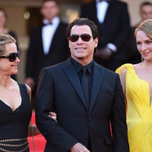 Uma Thurman, John Travolta, Kelly Preston