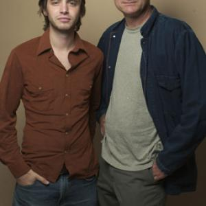 Bill Pullman and Aaron Stanford