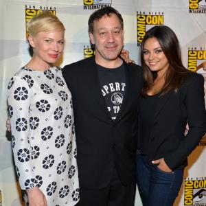 Sam Raimi, Mila Kunis, Michelle Williams