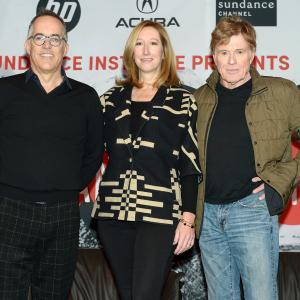 Robert Redford, Keri Putnam and John Cooper