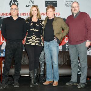 Robert Redford, Keri Putnam, John Cooper and Sean P. Means
