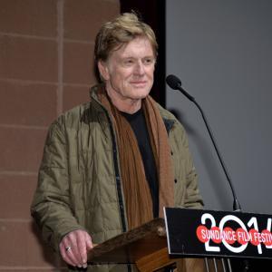 Robert Redford at event of Atkirtis (2014)