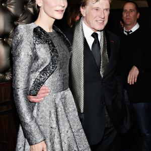 Robert Redford and Cate Blanchett