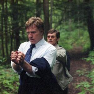 Still of Willem Dafoe and Robert Redford in The Clearing (2004)
