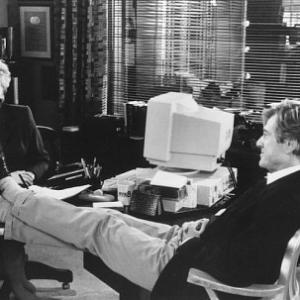 Still of Robert Redford and Kate Nelligan in Up Close & Personal (1996)
