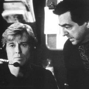 Still of Robert Redford and Joe Mantegna in Up Close & Personal (1996)