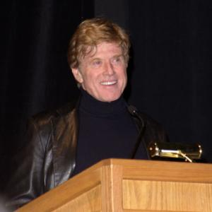 Robert Redford at event of The Laramie Project (2002)