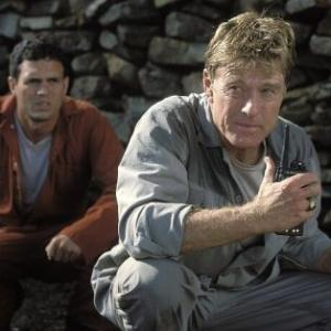 Still of Robert Redford and Mark Ruffalo in The Last Castle (2001)