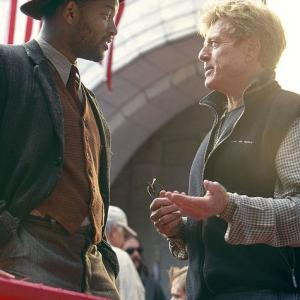 Will Smith with director Robert Redford
