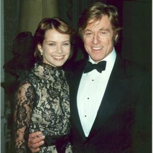 Robert Redford and Andrea Osvárt in Spy Game (2001)
