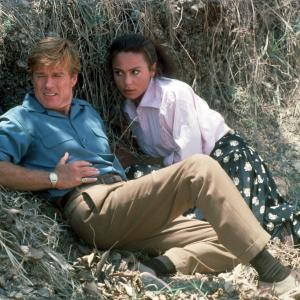 Still of Lena Olin and Robert Redford in Havana (1990)