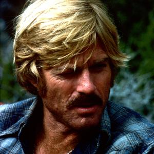 Still of Robert Redford and Sydney Pollack in The Electric Horseman (1979)