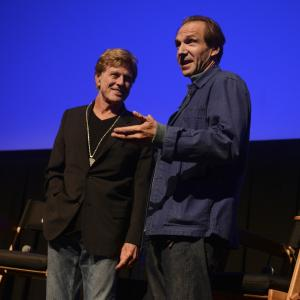 Ralph Fiennes and Robert Redford