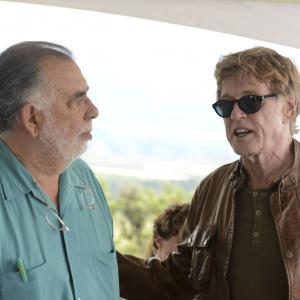 Francis Ford Coppola and Robert Redford