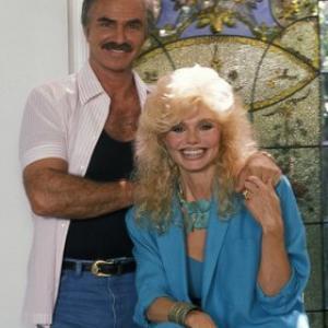 Burt Reynolds with wife Loni Anderson 1988  1988 Mario Casilli
