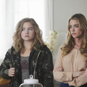 Still of Denise Richards and Maddie Hasson in Twisted (2013)