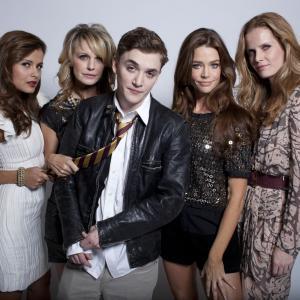 Still of Denise Richards, Kathryn Morris, Kyle Gallner, Rebecca Mader and Catalina Rodriguez in Cougars Inc. (2011)