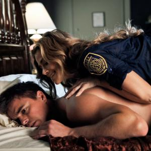 Still of Denise Richards and Darin Brooks in Blue Mountain State (2010)