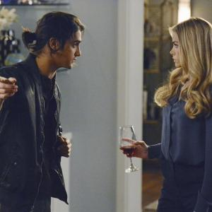 Still of Denise Richards and Avan Jogia in Twisted (2013)