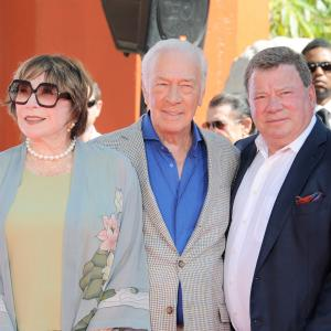 Shirley MacLaine, William Shatner, Christopher Plummer