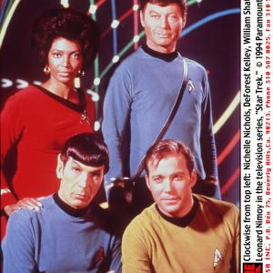 Leonard Nimoy, William Shatner, DeForest Kelley, Nichelle Nichols