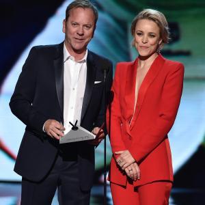 Kiefer Sutherland and Rachel McAdams