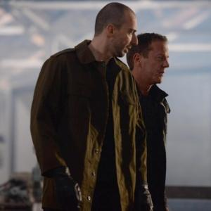 Still of Kiefer Sutherland and Branko Tomovic in 24: Live Another Day (2014)