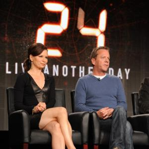Still of Kiefer Sutherland and Mary Lynn Rajskub in 24: Live Another Day (2014)