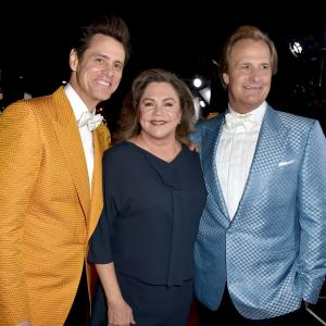 Jim Carrey, Kathleen Turner, Jeff Daniels