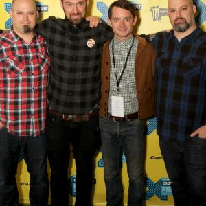 Elijah Wood, Josh Diamond, Josh Bishop, Jason Diamond
