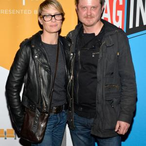 Robin Wright and Beau Willimon