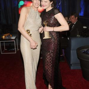 Robin Wright and Elisabeth Moss
