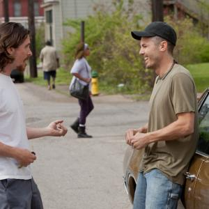 Still of Christian Bale and Casey Affleck in Out of the Furnace (2013)