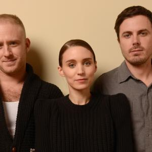 Casey Affleck, Ben Foster and Rooney Mara at event of Ain't Them Bodies Saints (2013)