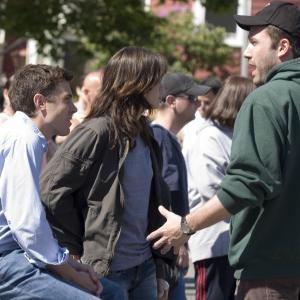 Still of Ben Affleck, Casey Affleck and Michelle Monaghan in Dingusioji (2007)