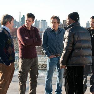 Still of Matthew Broderick, Eddie Murphy, Casey Affleck, Ben Stiller and Michael Peña in Dangoraizio apiplesimas (2011)