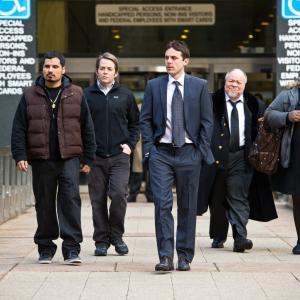 Still of Matthew Broderick, Casey Affleck, Michael Peña, Gabourey Sidibe and Stephen McKinley in Dangoraizio apiplesimas (2011)