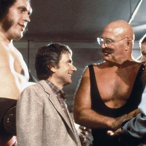 André the Giant, Amy Irving, Dudley Moore, H.B. Haggerty