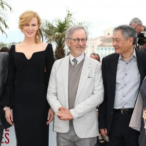 Nicole Kidman Steven Spielberg Ang Lee Daniel Auteuil and Lynne Ramsay