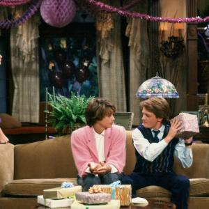 Michael J. Fox, Justine Bateman, Meredith Baxter, Michael Gross