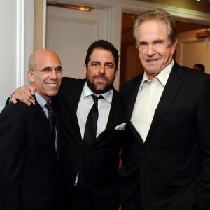Warren Beatty, Jeffrey Katzenberg, Brett Ratner