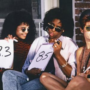 Still of Marisa Tomei Lisa Bonet and Dawnn Lewis in A Different World 1987