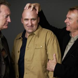 Sam Neill Bryan Brown and David Caesar at event of Dirty Deeds 2002