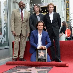 Jerry Bruckheimer, Forest Whitaker, Orlando Bloom, David Leveaux
