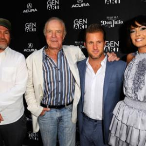 James Caan Scott Caan Wendy Glenn and Patrick Hoelck at event of Mercy 2009
