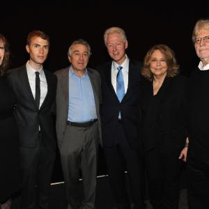 Robert De Niro, Bill Clinton, Linda Bloodworth-Thomason, Jane Rosenthal, Harry Thomason, Shane Bitney Crone