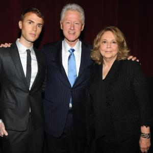 Bill Clinton, Linda Bloodworth-Thomason, Shane Bitney Crone