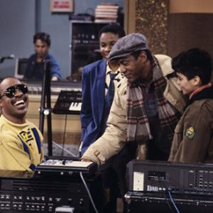 Bill Cosby, Stevie Wonder