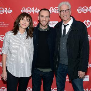 Ted Danson Mary Steenburgen and Charlie McDowell at event of The One I Love 2014