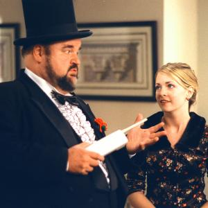 Still of Dom DeLuise and Melissa Joan Hart in Sabrina the Teenage Witch 1996